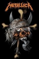 Poster Musica Metallica Pirate Skull Teschio del Pirata
