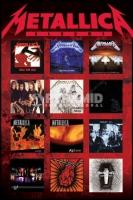 Poster Musica Metallica Raccolta Foderine Albums