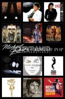 Poster Musica Michael Jackson Raccolta Foderine Albums