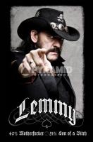 Poster Musica Motorhead Lemmy