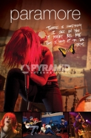 Poster Musica Paramore Live Farfalla