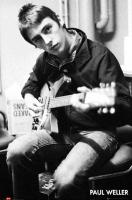 Poster Musica Paul Weller Chitarra