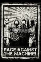Poster Musica Rage Against The Machine Distressed
