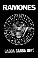 Poster Musica The Ramones Gabba Gabba Hey!