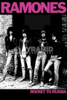 Poster Musica The Ramones Rocket To Russia