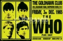 Poster Musica The Who Live in Goldhawk Club 1965