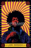 Poster Musica e Arte Jimi Hendrix Psichedelico