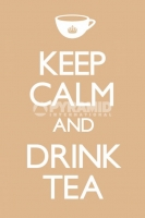 Poster Proverbi Inglesi Keep Calm And Drink Tea