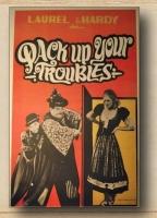 Poster Stanlio e Ollio Il compagno B Ristampa da collezione