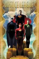 Poster Superman Batman Flesh Vintage