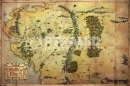 Poster Lo Hobbit Mappa The Journey 61x91,5 cm