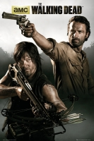 Poster The Walking Dead Rick e Daryl