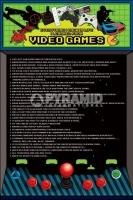 Poster Videogiochi Imparare la vita dai Videogames