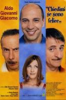 Poster film Chiedimi se sono felice CINEMA 100X140