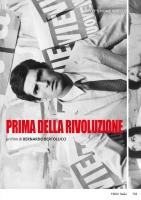 Prima Della Rivoluzione (2 dvd) (1964 ) B.Bertolucci