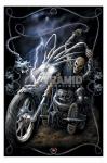 Ride To Hell moto SpiralPoster Fantasy