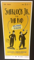Sherlock jr. vs The Kid (ediz. rest. 2017) Locandina cm.33x70