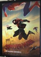 Spider-Man Un Nuovo Universo (2018) Poster CINEMA 100X140