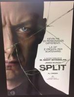Split (2017) Poster originale cm. 70x100
