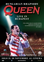 The Queen Hungarian Rhapsody Manifesto Cinema Originale 100x140