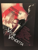 V for Vendetta loc. 50X70 riedizione digitale limitata