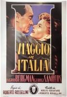 Viaggio in Italia di Rossellini Miniposter 35x50