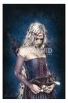 Victoria Frances Angel Of Death Poster Fantasy