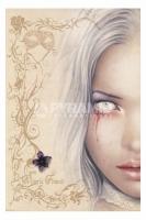 Victoria Frances Blood Tears Poster Fantasy