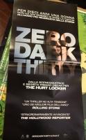 Zero Dark Thirty di K. Bigelow Locandina Origin.33x70