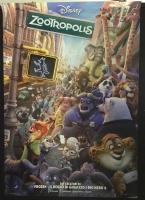 Zootropolis 2016 Poster maxi CINEMA 100X140