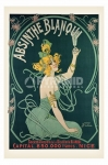 poster Arte Absinthe Blanqui retro stampa