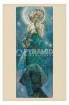 poster Arte Mucha Moon stampa