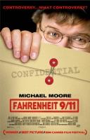 poster FHARENHEIT 9/11 M.Moore  CINEMA 100X140