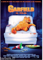 poster Garfield CINEMA 100X140