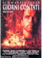 poster Giorni Contati Schwarzenegger CINEMA 100X140