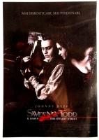 poster Manifesto Cinema 100x140 Sweeney Todd T. Burton
