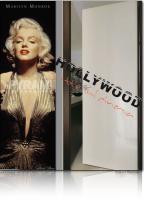 poster Marilyn Monroe sexy abito oro door