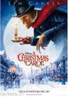 poster film Christmas Carol CINEMA 100X140