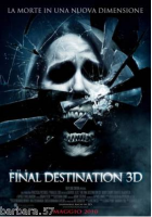 poster film Final Destination 3D CINEMA 100X140