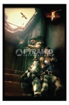 poster game Resident Evil 5 stampa