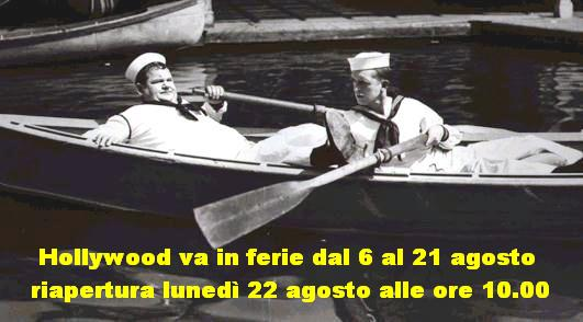 Laurel and Hardy boat